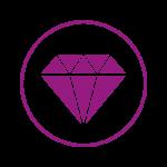 Icon Diamant Schönheit